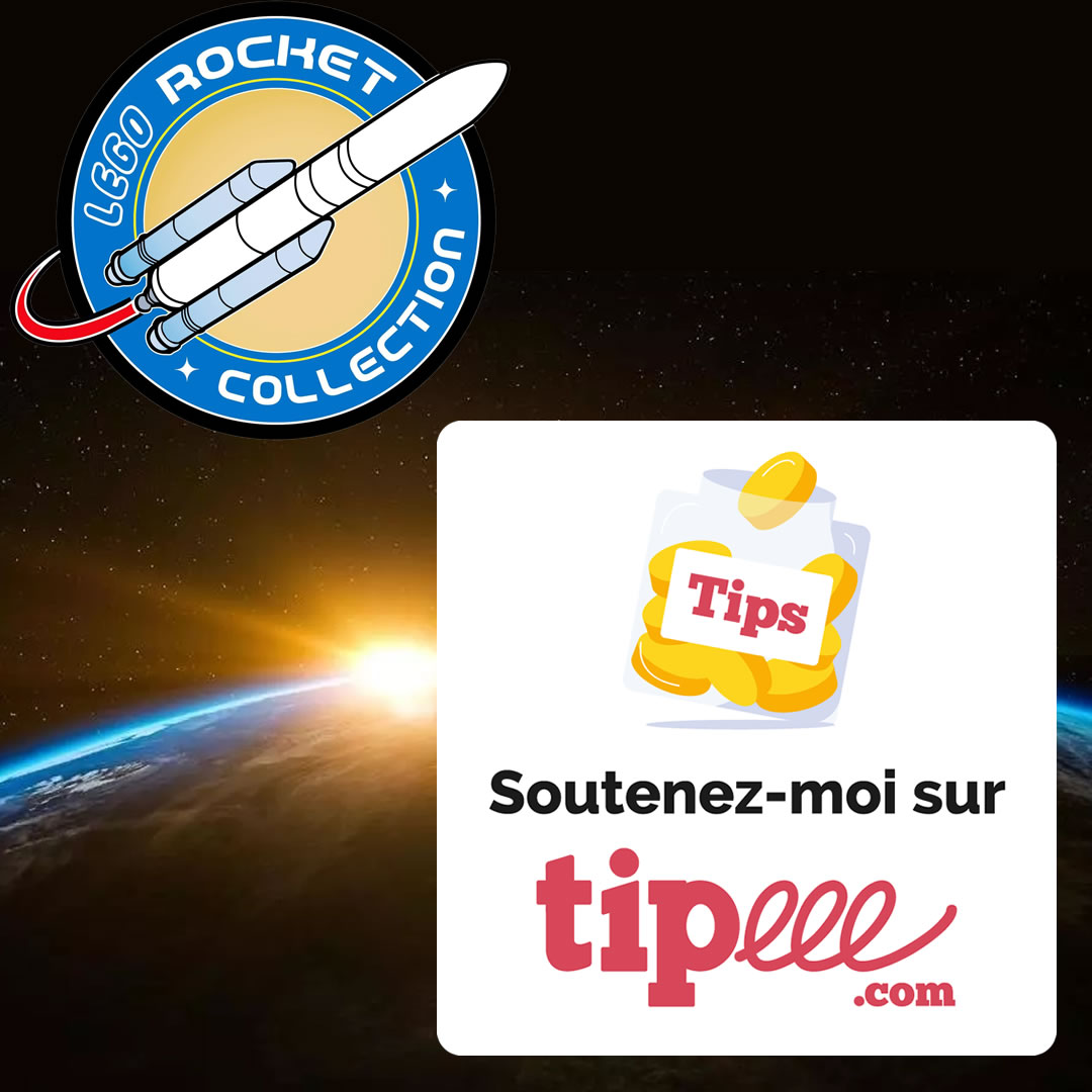 Lego Rocket Collection sur Tipeee